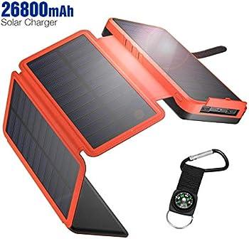 IEsafy YD-820S 26800mAh Portable Solar Power Bank