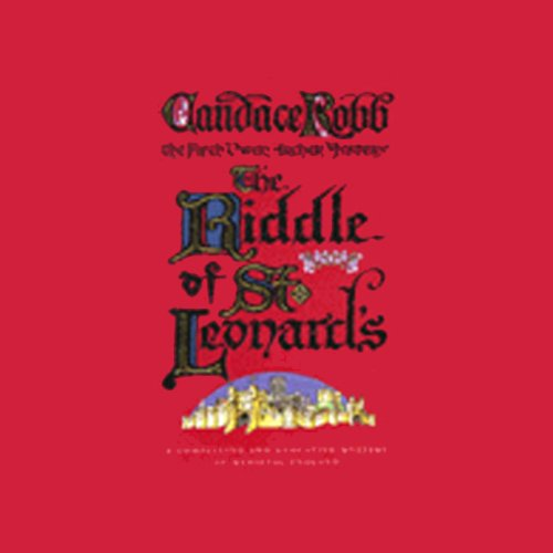 The Riddle of St Leonards' audiobook cover art