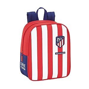 410ZrgPPF2L. SS300  - Atletico de Madrid Mochila guardería niño Adaptable Carro Equipaje, Niños Unisex, Rojo, Blanco Y Azul, Talla Única