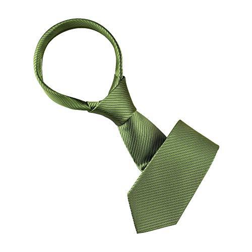 Allegra K 145 cm Color sólido rayas estrechas corbata graduación traje corbata corbata corbata formal lazos para hombres