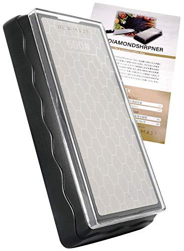 NEWMASTダイヤモンド砥石ダイヤモンドシャープナー両面砥石#600/#1200包丁研ぎ研ぎ方ハンドブック付き