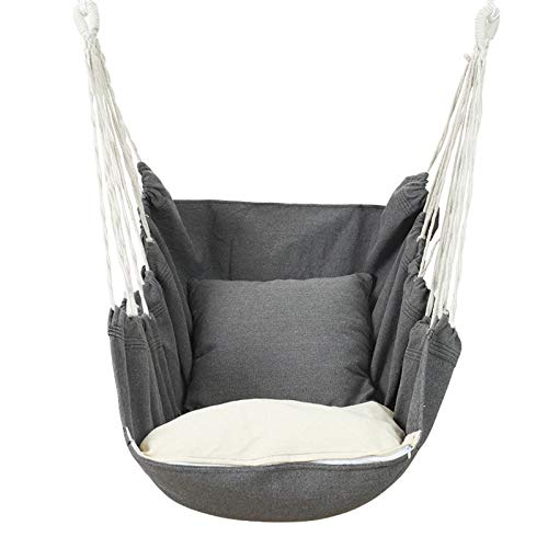 Outdoor Hammock Chair Macrame Swing Carrying Bag For Indoor Outdoor Large Hanging Rope Seat With 2 Cushions Weight Buy Online In Fiji At Desertcart Productid 200912546