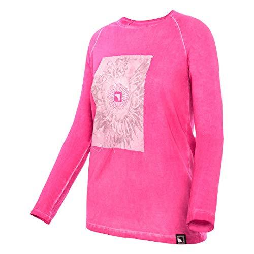 Trangoworld Indian t-Shirt, Femmes XS Fuchsia