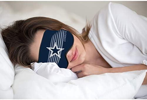 AHOBAGGA Sleep Blackout Eye Mask Blindfold Super Soft Sleep Aid Eye Cover Breathable Eyeshade product image