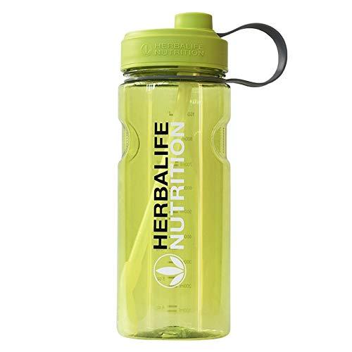 ZYLL Wasserflasche Sport Wasserflasche Sport Wasser Cup1000Ml Herbalife Marke Wasserflasche Außenraum Mit Riemen Stroh Ernährung Benutzerdefinierte Shaker Sportflasche