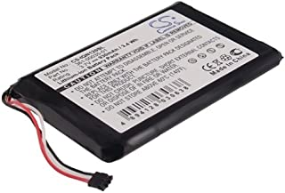 Battery Replacement for Garmin Nuvi 2595LM 361-00035-01 Nuvi 2595LMT Nuvi 1200 Nuvi 1205 Nuvi 1205W Nuvi 1250 Nuvi 1255W Nuvi 1260 Nuvi 1260W Nuvi 140T (fit Battery Part Number 361-00035-01)