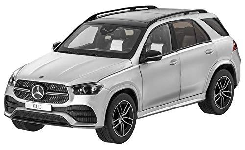 Mercedes Benz V 167 GLE SUV 2019 Iridiumsilber Metallic AMG Line Modellauto Maßstab 1:18 Metall NOREV Türen, Motorhaube und Heckklappe zum Öffnen