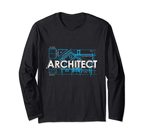Orgulloso Arquitecto De Arquitectura Regalo Manga Larga