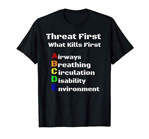 Notfallsanitäter Rettungsdienst schema Rettungssanitäter T-Shirt