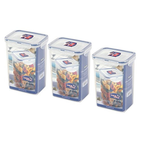 Lock & Lock - 3 x contenitori per alimenti HPL809-1,3 l