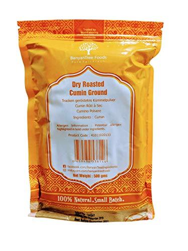 Semillas de comino fresco en polvo paquete resellable grande 500g
