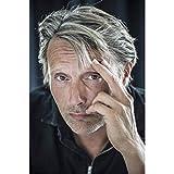 NOVELOVE Mads Mikkelsen Schauspieler Stern Poster Leinwand