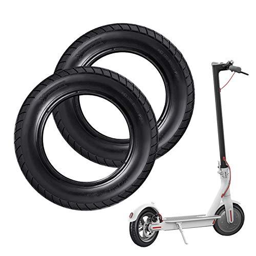 HITECHLIFE Neumático para Patinete Electrico, Reforma De DIY 10 Pulgadas Ruedas De Reemplazo Antideslizamiento Scooter Eléctrico Compatible con Xiaomi M365-2 Piezas