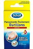 Scholl - Pansements Coricides Durillons - 2 paquets de 4 pansements