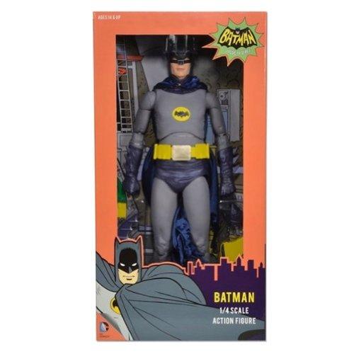 BATMAN CLASSIC TV SERIES ADAM WEST BATMAN 1/4 SCALE ACTION FIGURE