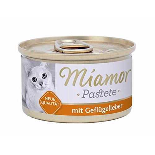 24er Pack Miamor Pastete Geflügel & Leber 85g
