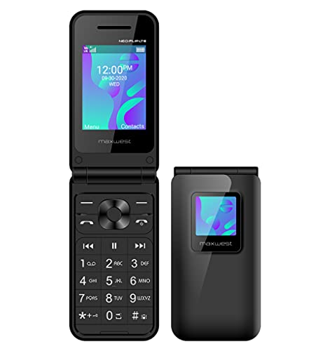 Flip Phone 4G LTE Volte Unlocked Compatible with T-Mobile Mint GSM...