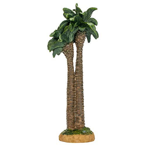 Three Kings Gifts The Original Gifts of Christmas Realistic Palm Tree Resin Stone Table Top Nativity Figurine - 7 inch Scale