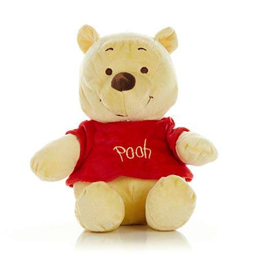 """Disney Baby Winnie the Pooh and Friends Stuffed Animal with Jingle and Crinkle, Pooh 12"""""""
