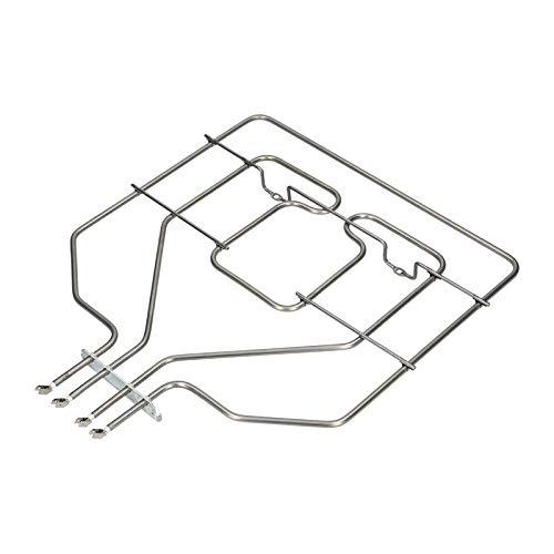 Calefacción superior Calefacción de doble circuito Calefacción de 2800 W Horno de cocción para Bosch Siemens Balay 00684722 EGO 20.35094.000