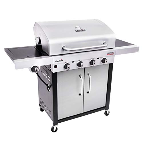 Char-Broil Performance Series™ 440S – 4 Burner Gas Barbecue Grill with TRU-Infrared™ technology, Stainless Steel Finish.