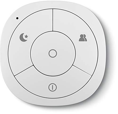 TechniSat Z-Wave Plus scèneschakelaar 1 (Smart Home Aktor, 4 toetsen afstandsbediening, scènecontroller, smarthome huisautomatie)