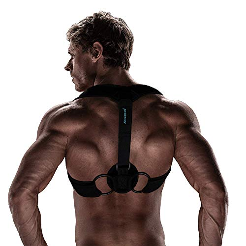 High Quality Unnoticeable Posture Corrector with Clavicle Support Improves Bad Posture, Comfortable Chest Posture Brace for Upper Back Support, Best Posture Corrector for Men & Women in XL, XXL & XXXL