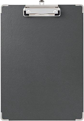 キングジム 用箋挟み クリップボード A4 黒 短辺とじ 8305クロ 【まとめ買い10枚セット】