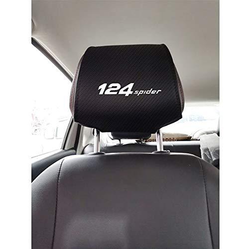 ZHLZH Funda reposacabezas, para Fiat 124 Spider Auto Cubierta del reposacabezas, Accesorios de Inter