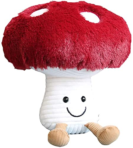 SPING DAWN Mushroom Pillows for Beds and Sofas, Fun Plush Toys and Home Decor Items (10.2inches)