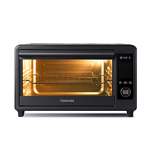 Toshiba TL2-AC25CZA(GR) Air Fryer Toaster Oven, 6-in-1...
