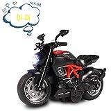 ALLCELE - Jouet à Tirer pour Moto et Voiture avec Son et lumière - Jouet pour...