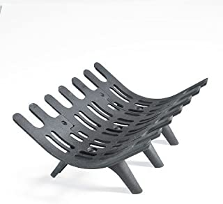 Large Cast Iron Deep-Bed Fireplace Grate
