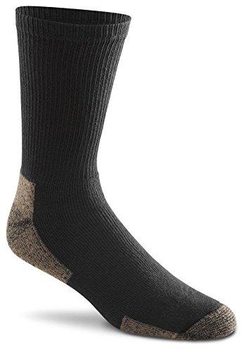 Fox River Cotton Work Crew Cut Socken (3 Paar), unisex, 6527 XL 07000 BLACK, Schwarz, xl