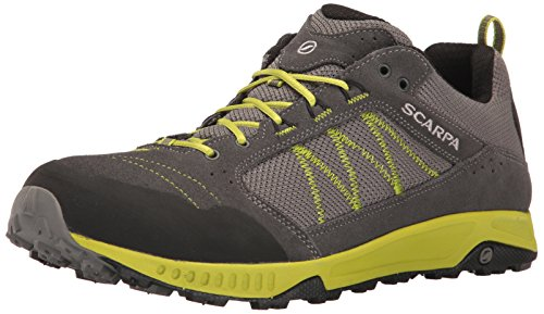 SCARPA Men's Rapid Hiking Shoe, Dark Grey/Green, 10.5