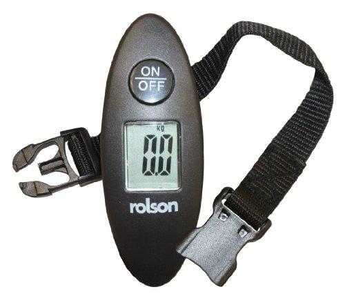 Rolson 60677 Digital Luggage Scale, 1-40 kg
