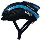 ABUS(アブス) ヘルメット GAMECHANGER(ゲームチェンジャー) エアロヘルメット モビスターチーム採用モデル モビスターチームカラー(ブルー) Mサイズ 【日本正規品/2年間保証】
