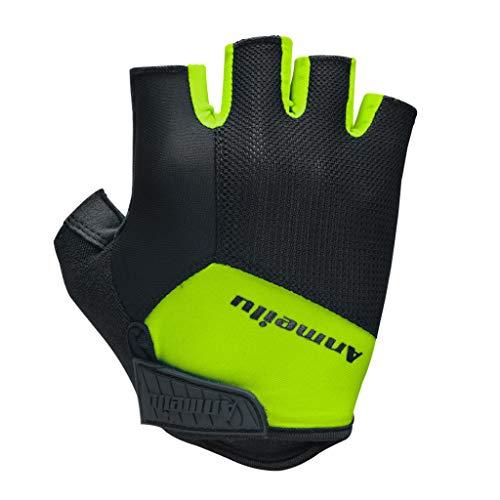 Btruely Fahrradhandschuhe Herren Radler Handschuhe Gepolsterte Sporthandschuhe atmungsaktive rutschfest Halbfinger MTB Radhandschuhe, Kurzfinger - atmungsaktiv/dämpfend
