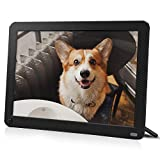 Digital Picture Frame 8 Inch with 1920x1080 IPS Screen, 32GB SD Card, Digital