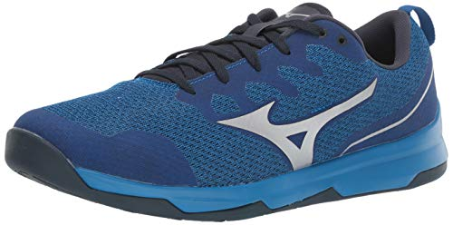 Mizuno Men's TC-02 Cross Training Shoe, Cross Training Sneakers for all forms of Exercise, Blue, 11.5 D US