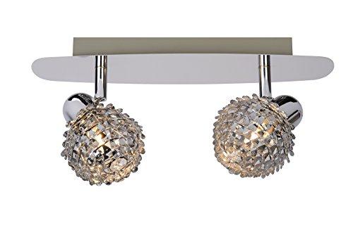 Lucide KYRA-LED - Spot Plafond - LED - G9 - 2x2,5W 3000K - Chrome