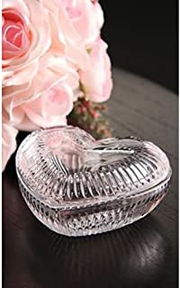 Waterford Heritage Heart Covered Box, Jewelry Tray with Cover, 5 inches