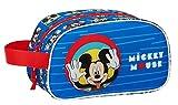 Safta Neceser Escolar Infantil Mediano con Asa de Mickey Mouse Me Time,...
