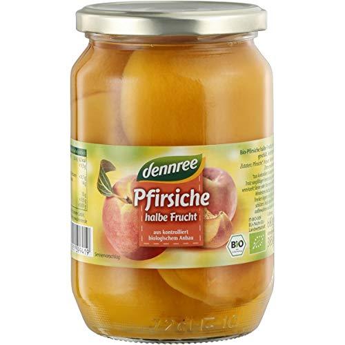 dennree Pfirsiche im Glas (680 g) - Bio