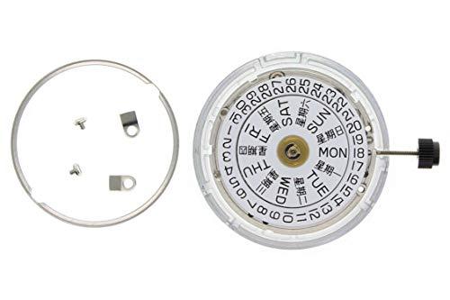 Nuevo diseño de Reloj Original para ETA 2836-2 Auto DÍA 3H Plata de Ley