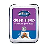 <span class='highlight'>Silentnight</span> <span class='highlight'>Deep</span> <span class='highlight'>Sleep</span> <span class='highlight'>Mattress</span> Protector, Small Double, White, 120 x 190cm