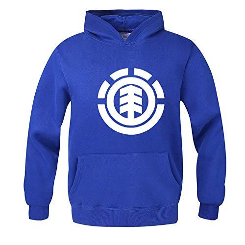 slim grande impreso chaqueta con capucha tamaño casual suéter de los hombres ropa de los deportes de los hombres suéter - azul - Large