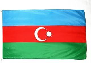 Azerbaijan Flag 3' x 5' - Azerbaijani Flags 90 x 150 cm - Banner 3x5 ft - AZ FLAG