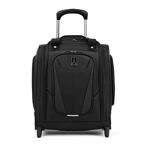 Travelpro Maxlite 5-Rolling Underseat Compact Carry-On Bag, Black