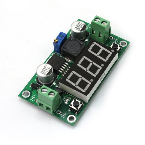 LM2596 Modul DC Einstellbar Step Down Schaltregler Power Supply LED Voltmeter